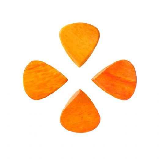 Jazzy Tones Orange Bone 4 Guitar Picks